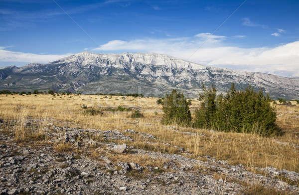 Montanas Croacia montana piedra nube Foto stock © bayberry