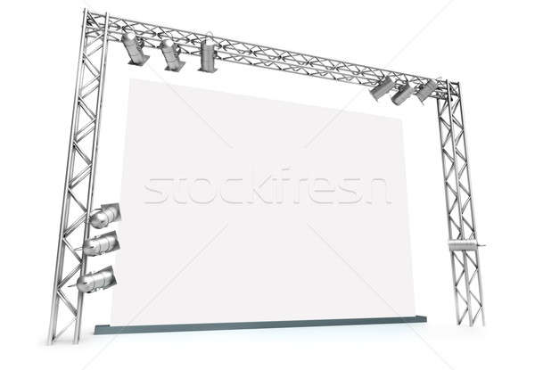 Large screen Stock photo © bayberry