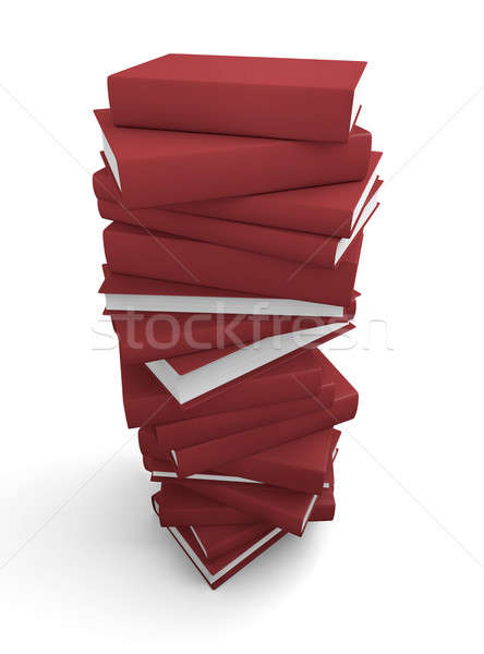 Stack of red books  Stock photo © bayberry