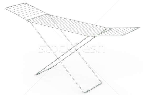 Rack vacío 3D prestados ilustración metal Foto stock © bayberry