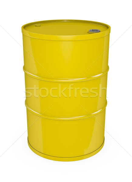 Yellow oil drum  Stock photo © bayberry