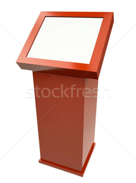 Touch screen terminal Stock photo © bayberry