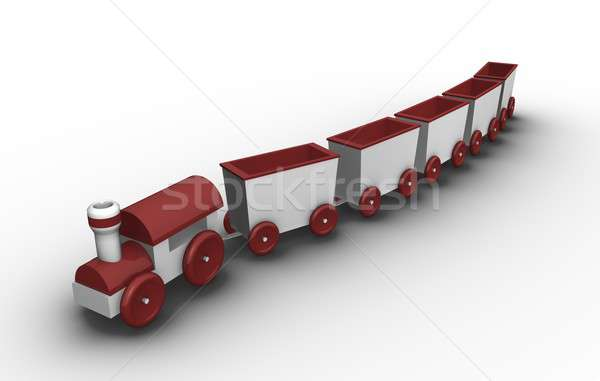 Toy train   Stock photo © bayberry