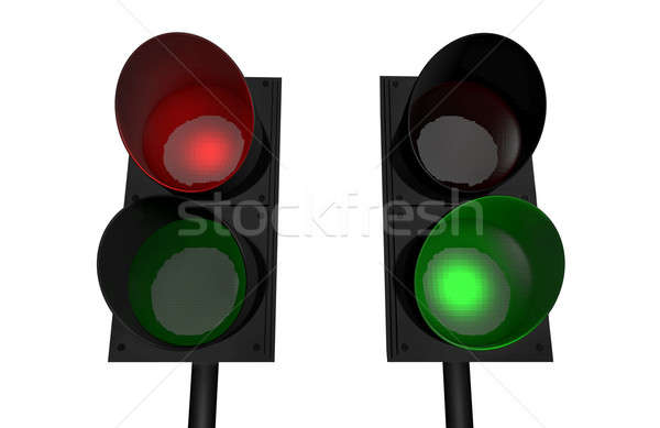 Red light, green light  Stock photo © bayberry