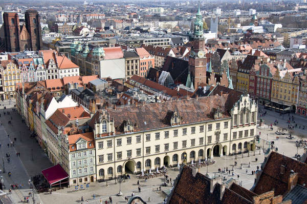 Market Square in Wroclaw  Stock photo © bayberry