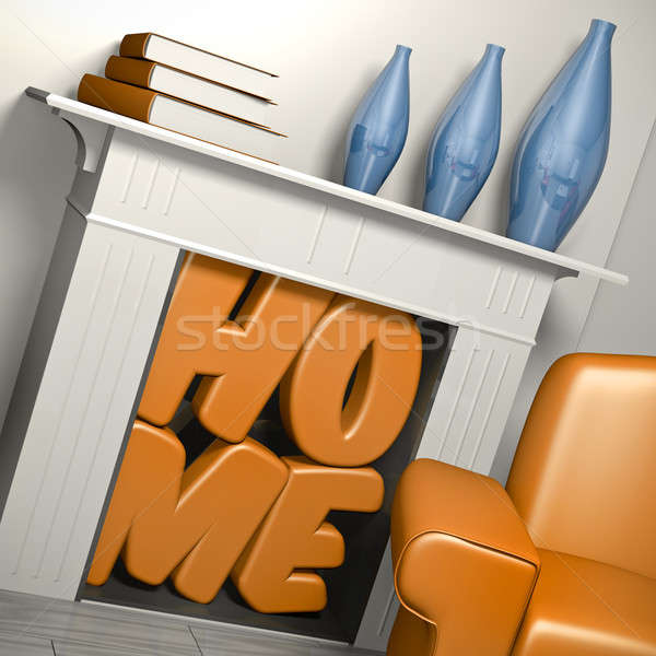 home sweet home  Stock photo © bayberry