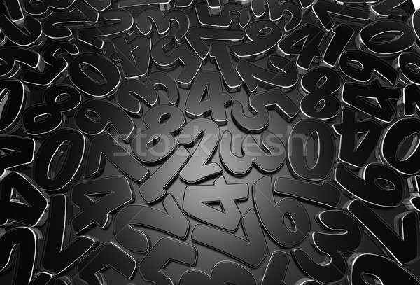 Scattered figures  Stock photo © bayberry