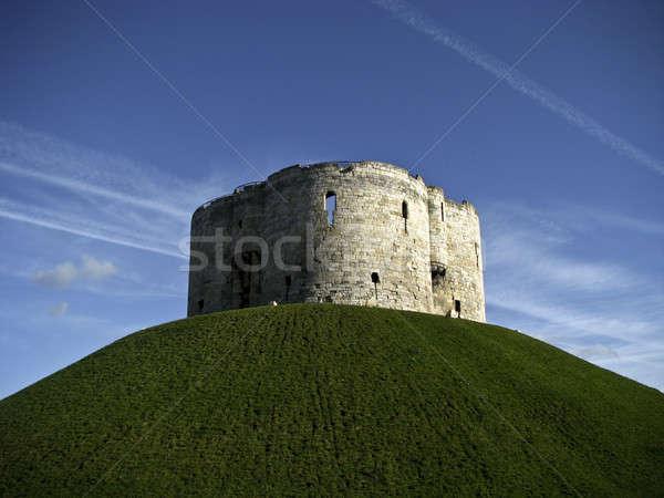 башни город замок холме музее туризма Сток-фото © bayberry