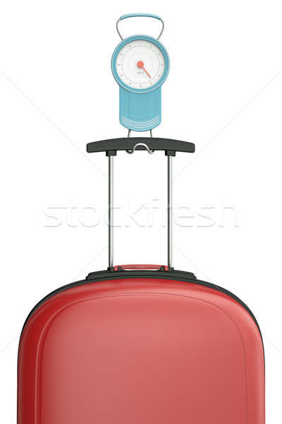 Luggage scales Stock photo © bayberry