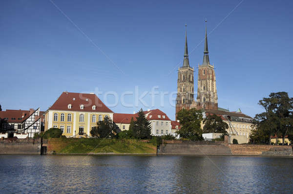 Wroclaw, Ostrow Tumski  Stock photo © bayberry
