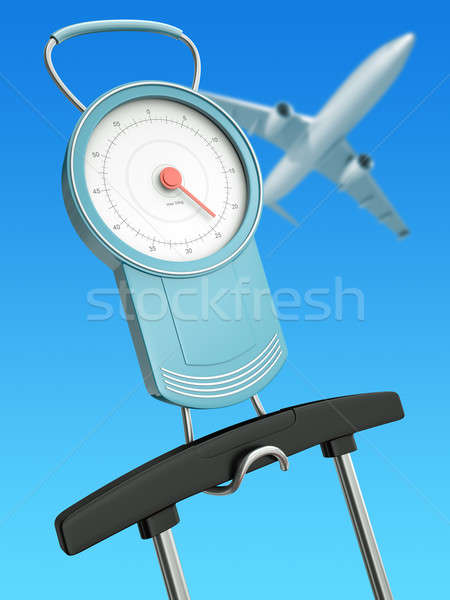 Air travel weight limits Stock photo © bayberry