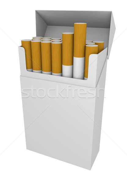 Packet of cigarettes Stock photo © bayberry