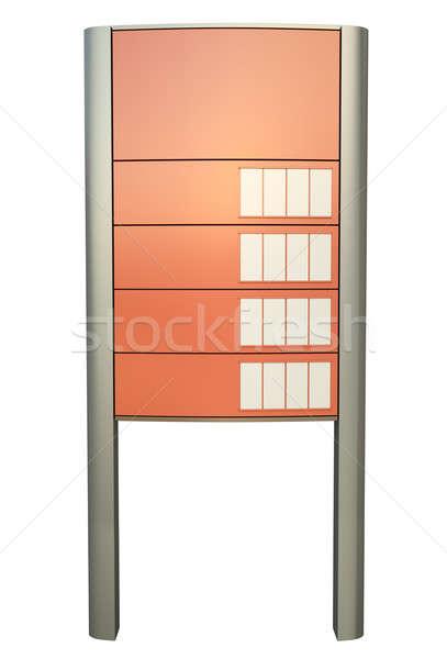 знак 3D оказанный изображение кадр Сток-фото © bayberry