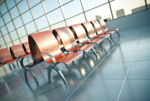 Airport seats Stock photo © bayberry