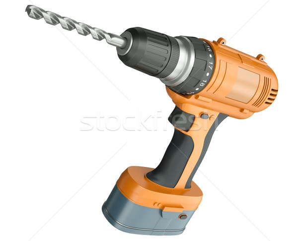 Cordless drill Stock photo © bayberry