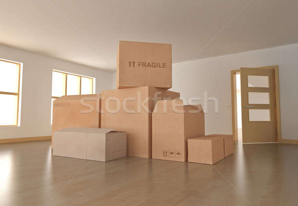 Moving in  Stock photo © bayberry