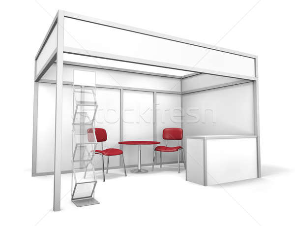 Stock photo: Trade Exhibition Stand