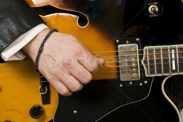 Playing guitar  Stock photo © bayberry