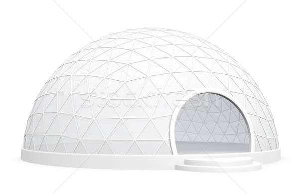 Exhibition dome tent  Stock photo © bayberry
