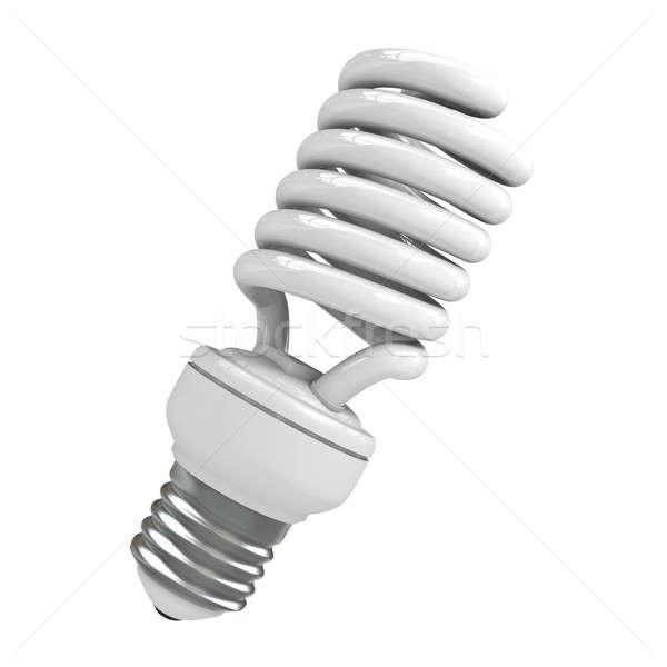 Energia branco 3d render luz Foto stock © bayberry
