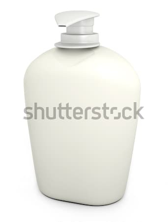 Soap bottle on white  Stock photo © bayberry