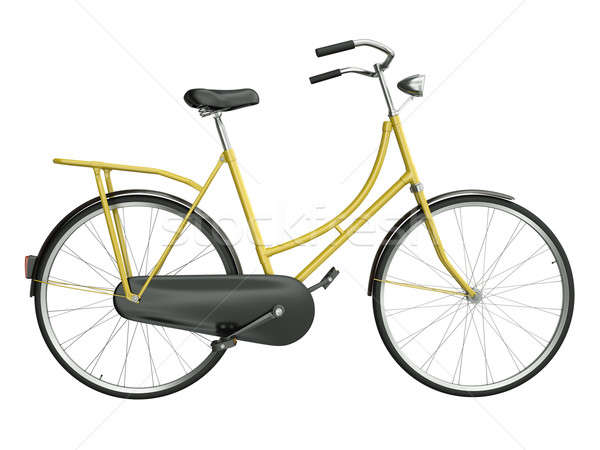 Yellow bicycle Stock photo © bayberry