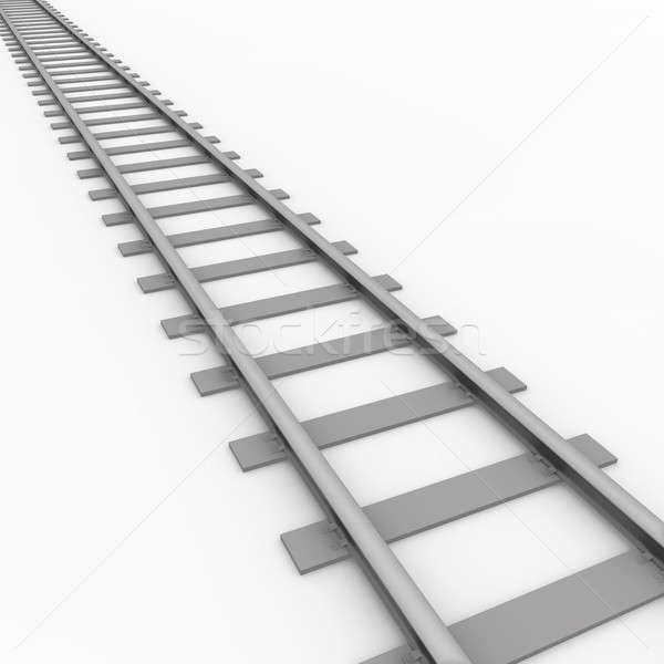 Rail track  Stock photo © bayberry