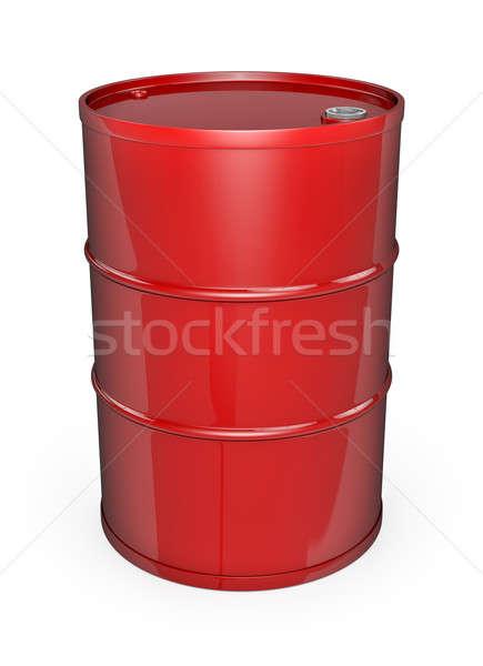 Rojo petróleo tambor barril alto calidad Foto stock © bayberry