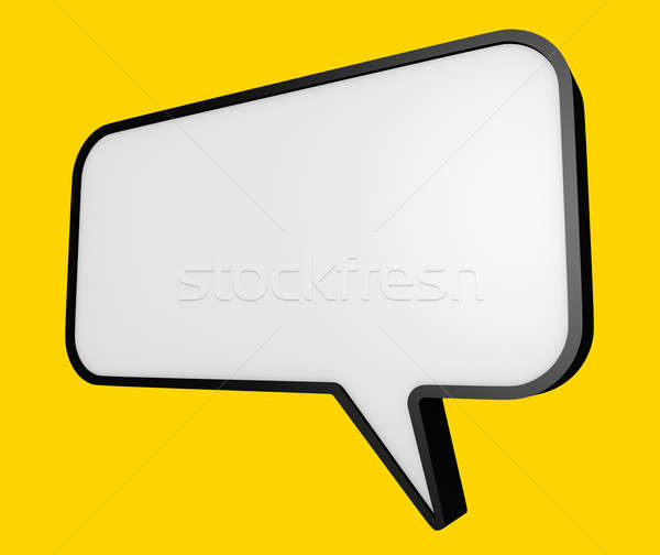Speech bubble  Stock photo © bayberry