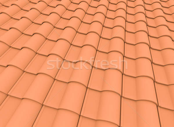 Roof tiles  Stock photo © bayberry