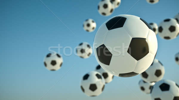 Soccer balls  Stock photo © bayberry