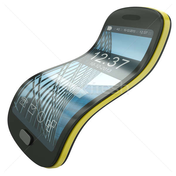 Flexible smartphone Stock photo © bayberry