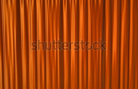 Red Curtain Stock photo © bayberry