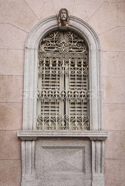 Ornate window in Como  Stock photo © bayberry