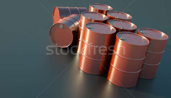 Oil drums Stock photo © bayberry