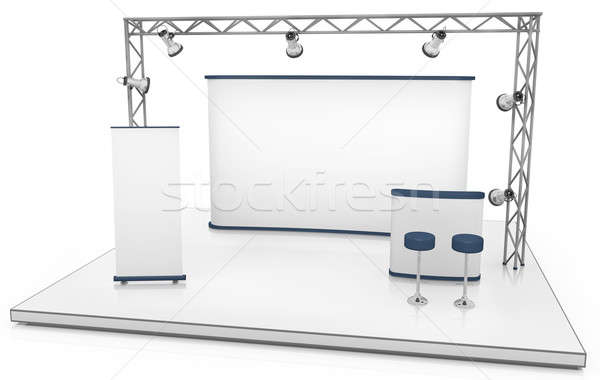 Exhibition stand Stock photo © bayberry
