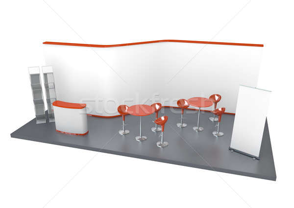 Trade Exhibition Stand  Stock photo © bayberry