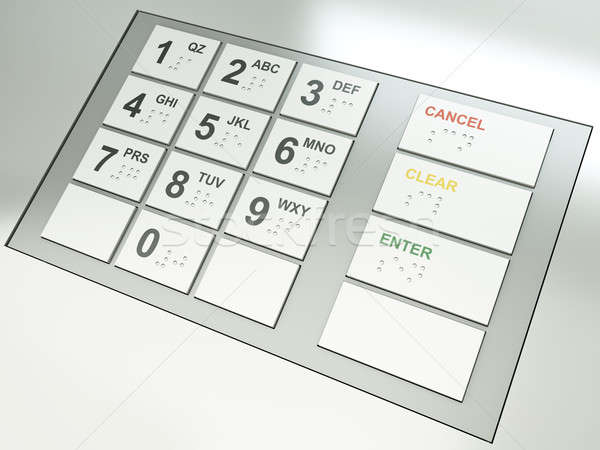 ATM keys Stock photo © bayberry