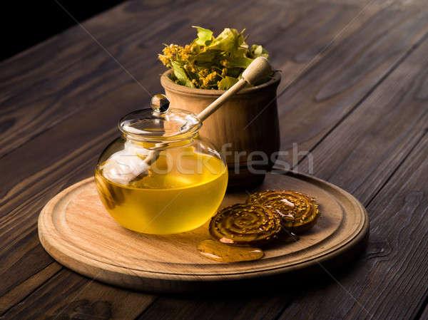 lime honey Stock photo © bazilfoto
