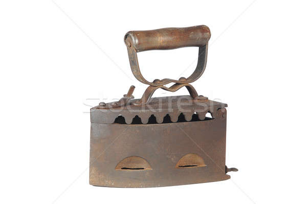 Old iron, Stock photo © bazilfoto