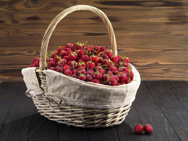 strawberry  Stock photo © bazilfoto