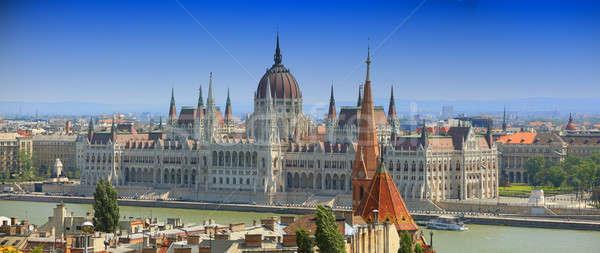 Budapest Stock photo © bazilfoto