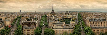 Paris panoramic Stock photo © bazilfoto