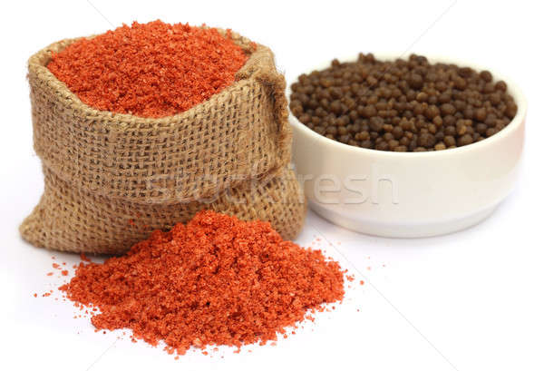 Muriate of potash and Diammonium phosphate fertilizer Stock photo © bdspn