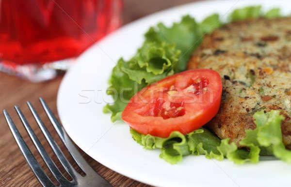 Vegetable cutlet Stock photo © bdspn