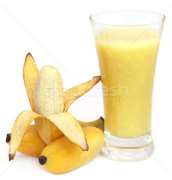 Banana with juice  Stock photo © bdspn