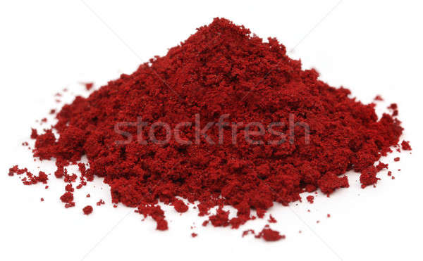 Pile of Industrial red color Stock photo © bdspn