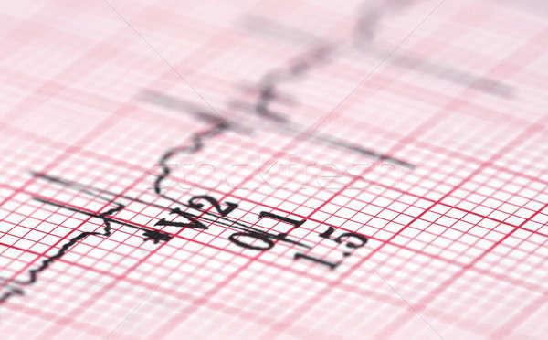 Közelkép adat egészségügy kudarc mérés pumpa Stock fotó © bdspn
