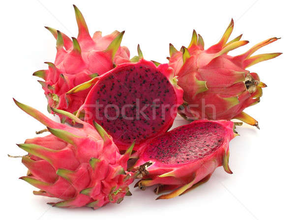Close up of a dragon fruit Stock photo © bdspn