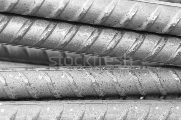 Reinforcing steel bar for construction Stock photo © bdspn